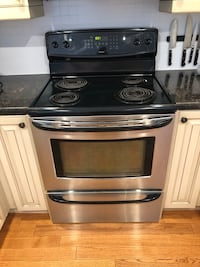 Kenmore stainless 30 inch convection range