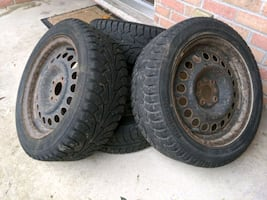 Winter tires for Fiat 500