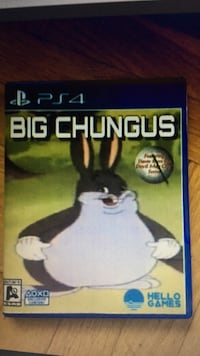 Ps4 big chungus Exclusive!!! Edmonton, T5L 3R2