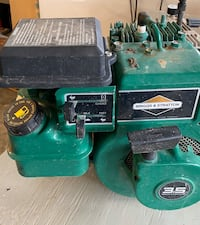 Side Shaft B&S engine. Condition unkown.