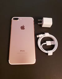 Rose Gold iPhone 7 plus Toronto