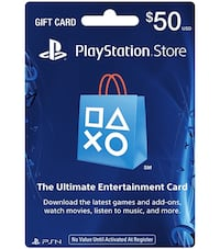50$ psn card for sale Burnaby, V5J 2H8