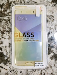 Brand New Samsung S8 Plus Tempered Glass Screen Protector. Full Cover Toronto, M9N 0A4