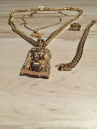 14k gold cuban set  New York