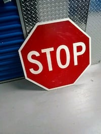 stop sign Jersey City, 07305