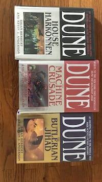 Dune Books discarded from library Havelock, 28532