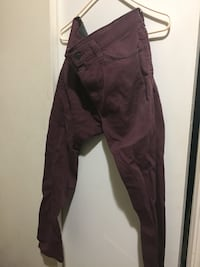 Size 34 Men's Bordeaux Jeans New York, 10032