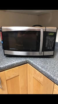 Gray and black microwave oven Falls Church, 22046