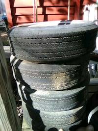 4 - 15 in. Tires 4.00 ea. or all 4 for 15.00