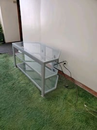 3 level glass T.V stand