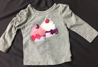 gray and pink Hello Kitty print sweater Pickering, L1V