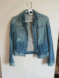 blue denim button-up jacket Edmonton, T5L