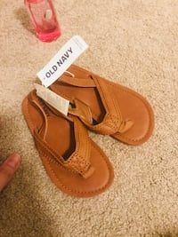 Pair of brown leather sandals Markham, L3S
