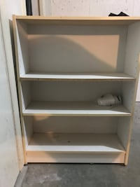 white wooden 5-layer shelf Delta, V4C 8G4
