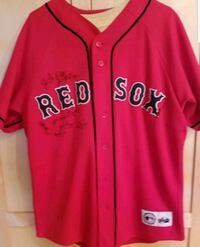 Red sox signed Jersey Wayland, 01778
