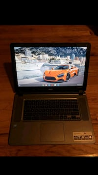 Acer Chromebook 15 (sorry about the blurry pics)