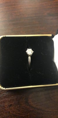 Platinum diamond ring Stephenson, 22656