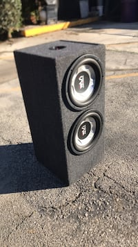 black and gray Pioneer subwoofer Long Beach, 90804