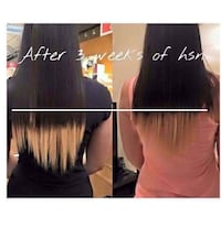 Grow hair and nails out!!