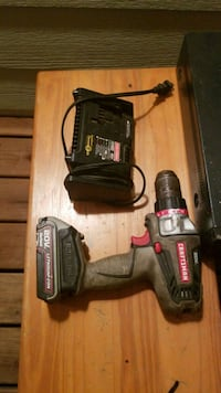 black and red Craftsman cordless power drill Nampa, 83686