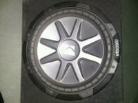 black and gray Kicker subwoofer Los Angeles, 91605