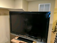 Sony 46 inch TV with remote and HDMI ports