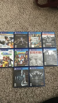 PS4 Games (Like New, Some Are in Brand New Condition) Knoxville, 37912