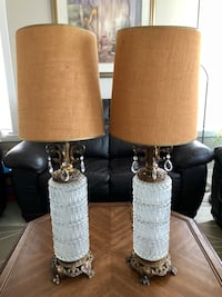 Pair of Gorgeous Antique Table Lamps  Calgary, T3Z 0Y2