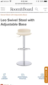 Room & Board Counter/Bar Stools Chicago, 60610