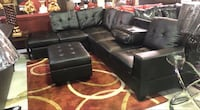 Sectional W/Storage Ottoman And CupHolders On Sale!! New York, 11435