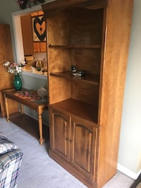 brown wooden cabinet with shelf Charles Town, 25414
