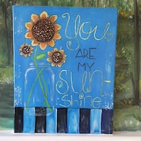 Painting original. You are my sunshine Oakdale, 95361