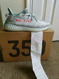 Sz 14 Adidas Yeezy 350 Blue Tint With Receipt  Katy, 77449