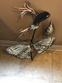 Weathered Metal Butterfly 17x20 SEE PICKUP Precautions