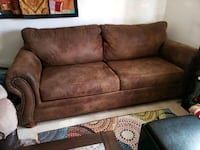 Brown couch w / studs Las Vegas, 89145
