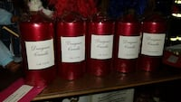 five red Designer candles Capitol Heights, 20743