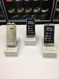 three Samsung Galaxy S6 edge with boxes Lafayette, 70506