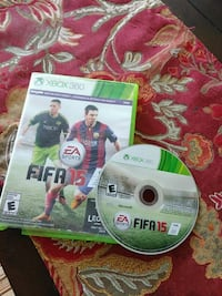 FIFA 15 Xbox 360 game disc with case Silver Spring, 20903
