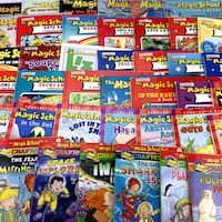 Lot 45 Magic School Bus Books Collection Picture Storybooks & Chapter Series Set Port Colborne