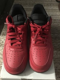 Pair of red nike air force 1 low Miami Gardens, 33054