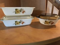 VINTAGE PYREX SET OF 3  North Dumfries, N0B 1E0
