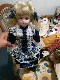 porcelain doll in blue and white dress Orlando, 32809
