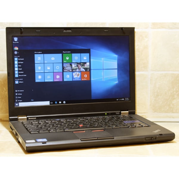 "Lenovo Laptop T420 Webcam i5 WiFi 2.5GHz 4GB RAM 320GB 14"" DVDRW Windows 10"