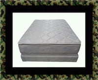 Pillowtop mattress with boxspring all size McLean