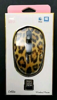 BRAND NEW Cheetah print USB wireless Bluetooth mou Honolulu, 96813