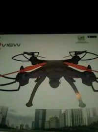 black and red quadcopter drone Chattanooga, 37406
