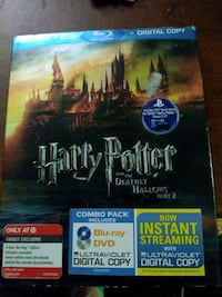Harry potter & the deathly hollows part 2 blueray  Waterloo, 50701