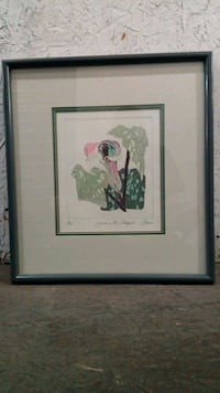 Framed 'Jack In The Pulpit' Painting Henderson, 89074