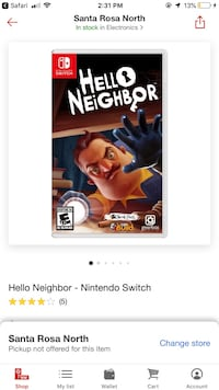 Nintendo switch hello neighbor  Windsor, 95492