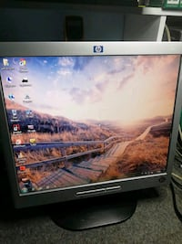 "17""HP LCD monitör"